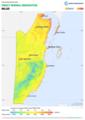 Belize DNI Solar-resource-map GlobalSolarAtlas World-Bank-Esmap-Solargis.png