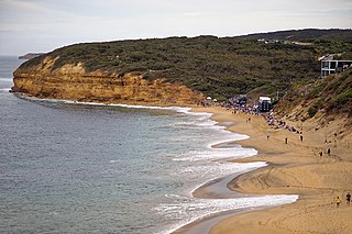 Bells Beach, Victoria Town in Victoria, Australia