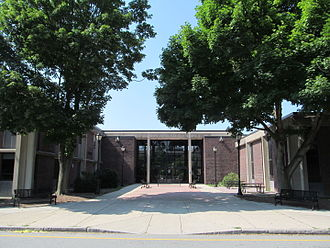 Belmont High School (Massachusetts) - Main Entrance