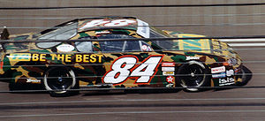 VSR V8 Trophy - Ben Collins on his way to winning the 2003 ASCAR championship