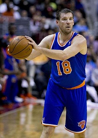 Beno Udrih - Udrih with the Knicks in 2013