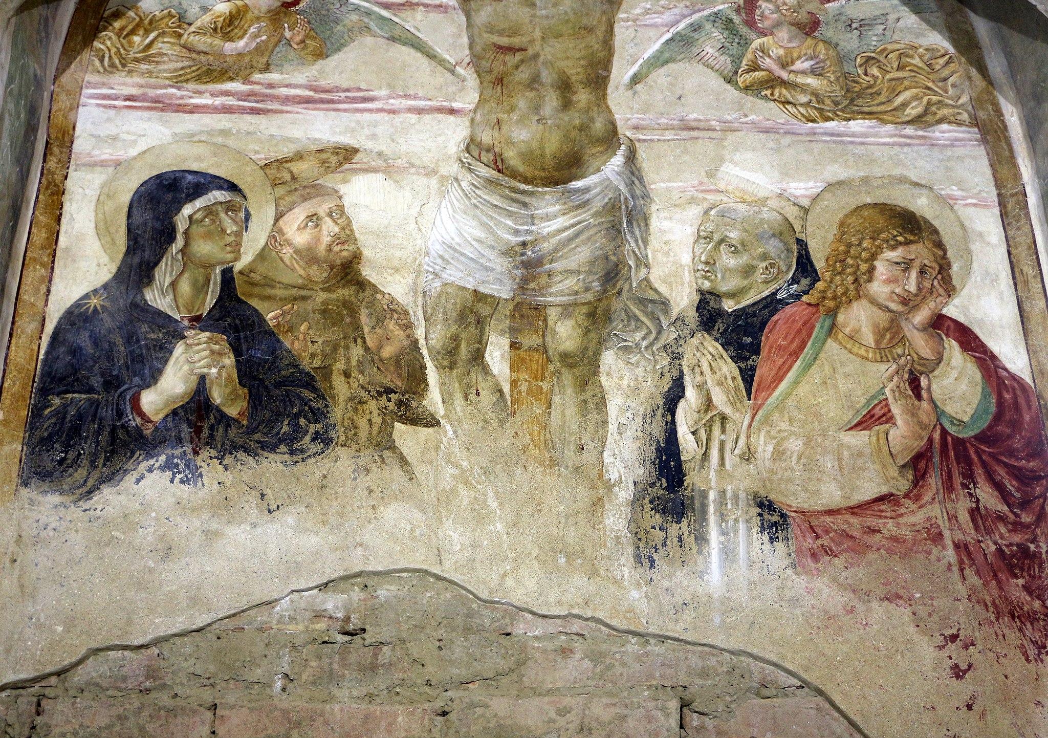 Benozzo gozzoli, tabernacolo di Legoli, 1479-80