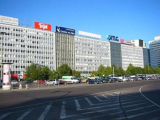 Treuhandanstalt - Treuhandanstalt headquarters at Alexanderplatz, Berlin