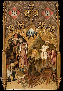Bernat Martorell - Martyrdom of Saint Lucy - Google Art Project.jpg