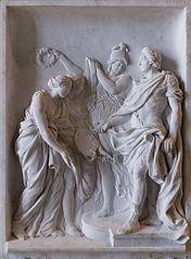 Louis XV récompense la Peinture et la Sculpture