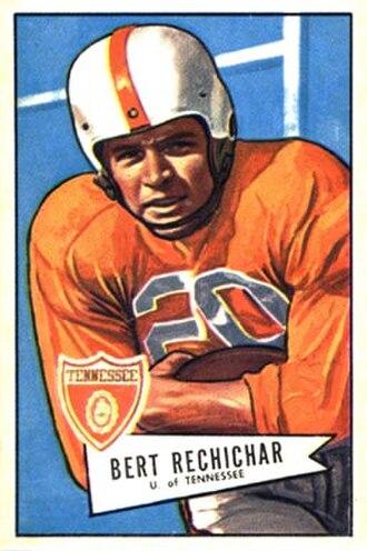 Bert Rechichar - Image: Bert Rechichar 1952 Bowman Large