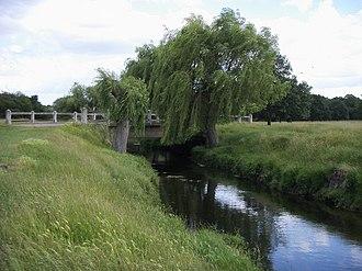 Beverley Brook - Beverley Brook in Richmond Park