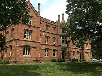 Bexley Hall - Old Bexley Hall Building, Kenyon College, Gambier, Ohio