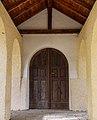 Bezoek aan kerk van San Rocco met daaromheen de militaire begraafplaats in Peio Paese 17.jpg