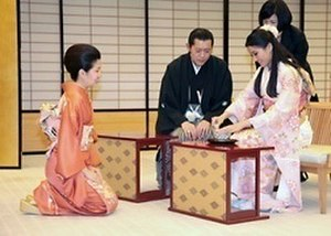 Jetsun Pema - Jetsun Pema and her husband on a state visit to Japan in 2011