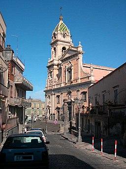 Biancavilla chiesa S Maria dell'elemosina