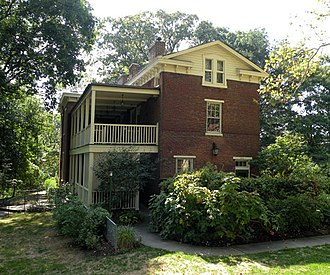 Chatham Village (Pittsburgh) - The Bigham House, built in 1849, now known as Chatham Hall