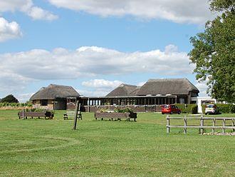 Bignor Roman Villa - Bignor Roman Villa, museum buildings