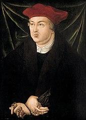 cardinal Albert de Brandebourg