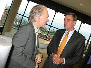 Bill Maher - Maher with Mark Warner, Democratic Senator from Virginia