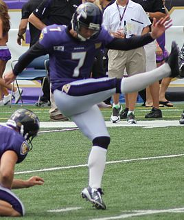Billy Cundiff American football player, placekicker