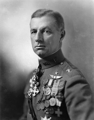 Billy Mitchell - Brigadier General William L. Mitchell,  United States Army Air Service
