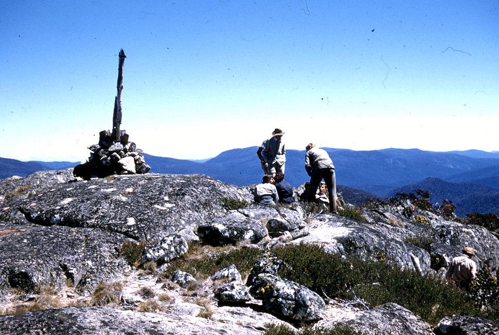 Bimberi Peak summit 1