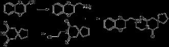 Binospirone - Image: Binospirone synthesis
