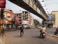 Biresh Guha Street - Dilkhusa Street - Park Street - Darga Road - John Burdon Sanderson Haldane Avenue Crossing - Kolkata 2011-10-16 160456.JPG