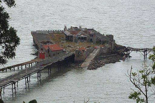 Birnbeck Pier from Weston Woods