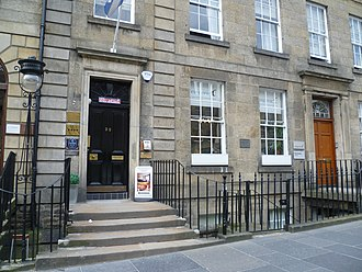 Kenneth Grahame - Grahame's birthplace in Castle Street, Edinburgh