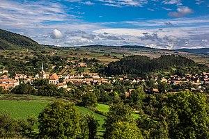 Mureș County - The Saschiz fortified church