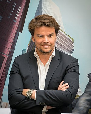 Bjarke Ingels - 2015 in Frankfurt am Main
