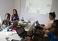 Black Lunch Table Wikipedia Edit-a-thon at Alice Yard, Trinidad and Tobago 06.jpg