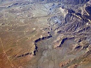 Black Mesa (Apache-Navajo Counties, Arizona) - Black Mesa, west of Chilchinbito, Arizona.