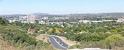 Bloemfontein skyline viewed frae Signal Hill