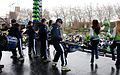 Blue Thunder and the Sea Gals perform for the crowd. (12212662744).jpg
