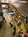 Blue line platform Rajiv Chowk.jpg