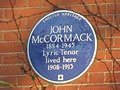 Blue plaque re John McCormack - geograph.org.uk - 1090140.jpg