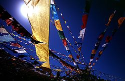 Blue sky prayer flags TIBET.jpg