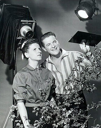 Ann B. Davis - Davis with Bob Cummings on The Bob Cummings Show, 1958