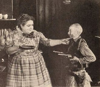 Carrie Clark Ward - Carrie Clark Ward and Wesley Barry in Bob Hampton of Placer (1921)