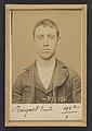 Bocquet. Alexandre, Émile. 17 ans, né à Paris XVlle. Menuisier. Vol. Fiché le 14-4-94. MET DP290198.jpg