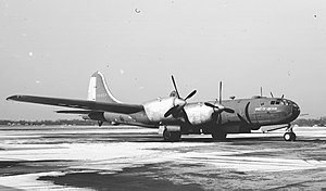 Boeing XB-39 Superfortress - General Motors modified B-29 to use Allison V-3420 engines