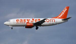 Aircraft: Boeing 737-33V Airline: EasyJet Regi...