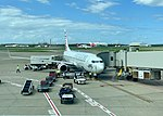 Boeing 737-800 Chiton Rocks of Virgin Australia at Brisbane Airport 02.jpg