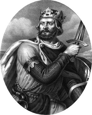 Bolesław III Wrymouth - Imaginative portrait by Aleksander Lesser