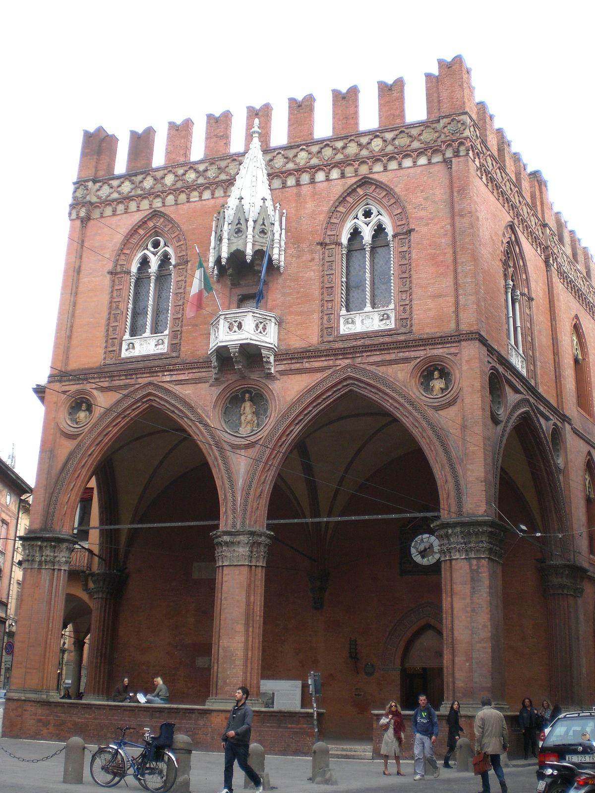 Palazzo della mercanzia wikipedia for Indirizzo della camera dei deputati