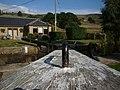Bottomley Lock upper lock, looking down gate.jpg