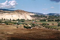 From The Hogsback Of Highway 12 Ranching And Farming Community Boulder Nestles Amidst