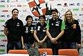 Boulder Worldcup Vienna 27-05-2010 05 Heiko Wilhelm, Johanna Ernst, Anna Stöhr, Kilian Fischhuber, Alex Johnson.jpg