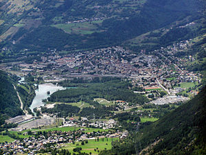 Bourg-Saint-Maurice - A general view of Bourg-Saint-Maurice