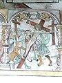 Brøns kirke - Wandmalerei 10 - Kreuzaufrichtung.jpg