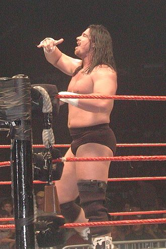 John Layfield - Layfield at a 2002 house show during his time as Bradshaw