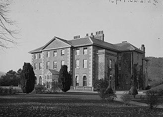 Brampton Bryan - Brampton Bryan Hall; c. 1930s